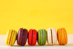 Image of colorful macaron or macaroon Royalty Free Stock Image