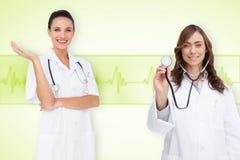 Image composée d'équipe médicale Photo stock