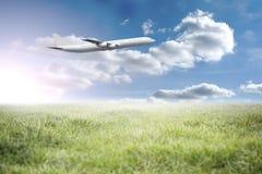 Image composée d'avion graphique Photos stock