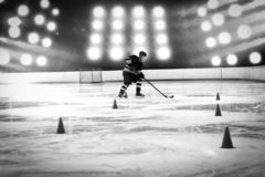 Image composée d'hockey photo stock