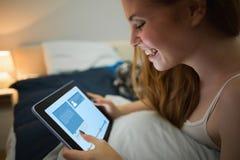 Image composée d'interface de site Web image libre de droits
