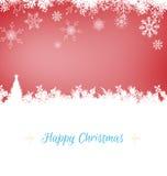 Image composée de carte de Noël Photos libres de droits