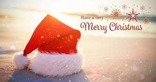 Image composée de carte de Noël