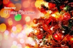 Image composée de carte de Noël illustration libre de droits