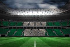 Image composée de drapeau national nigérien digitalement produit illustration de vecteur