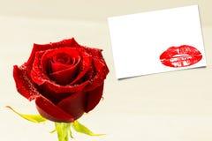 Image composée de fin d'extrémité sur les lèvres rouges magnifiques Images libres de droits