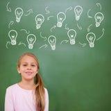 Image composée de graphique d'idée et d'innovation Photos libres de droits