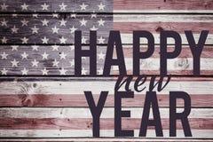 Image composée de graphique de nouvelle année Photo stock
