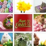 Image composée de Joyeuses Pâques Photo libre de droits