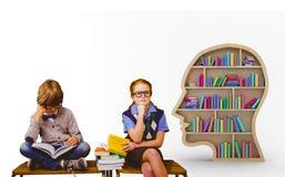 Image composée de l'étude d'élèves Images libres de droits