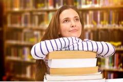 Image composée de l'étude d'étudiants Image stock