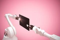 Image composée de l'image graphique des technologies 3d Images libres de droits