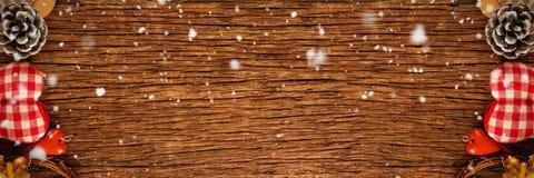 Image composée de la chute de neige Image stock