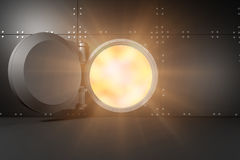 Image composée de la fusée 3d Image stock
