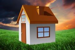 Image composée de maison Image stock