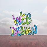 Image composée de web design Photographie stock libre de droits