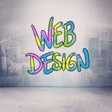 Image composée de web design Image stock