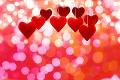 Image composée des coeurs 3d d'amour Image stock