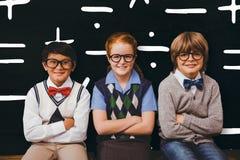 Image composée des enfants d'école Photographie stock libre de droits