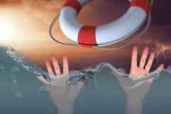 Image composée des mains 3d Photo libre de droits