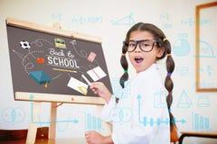 Image composée des maths Photographie stock libre de droits