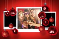 Image composée des photographies de Noël Photographie stock libre de droits