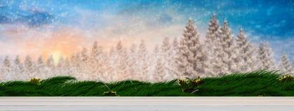 Image composée des planches en bois bleues peintes Image libre de droits