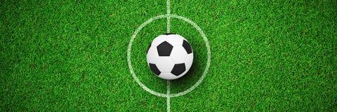 Image composée du football Illustration de Vecteur
