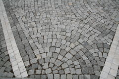 Image composed of blocks of paving the way Stock Photography