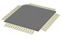 Image of computer chip Royalty Free Stock Image