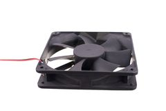 Image of computer fan isolated Stock Image