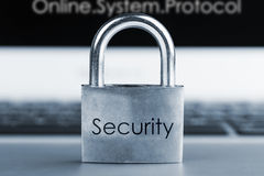 Image of Computer security concept Royalty Free Stock Images