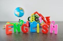 Image conceptuelle anglaise d'étude Image libre de droits