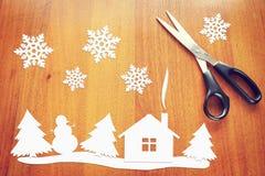 Image conceptuelle d'abrégé sur vacances de bonne année Images libres de droits
