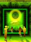 Image conceptuelle d'affaires Image stock