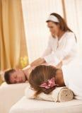 Image conceptuelle d'obtenir le massage photo stock