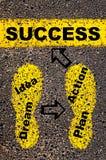 Image conceptuelle de réussite Photos stock