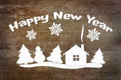 Image conceptuelle de vacances de bonne année Photo libre de droits