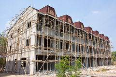 Image of Construction. A building under construction in Chiang Mai Royalty Free Stock Photo