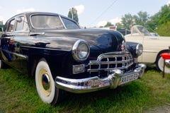 Image courante automobile du vintage GAZ-12 (ZIM) Photo stock