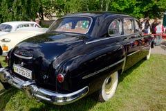 Image courante automobile du vintage GAZ-12 (ZIM) Photos libres de droits