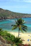 Image courante de baie de Hanauma, Oahu, Hawaï Photographie stock libre de droits