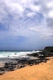Image courante de baie de Maunalua, Oahu, Hawaï images stock
