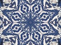 Image courante de kaléidoscope de l'hiver Photos stock