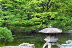 Image courante de palais impérial, Tokyo, Japon image libre de droits