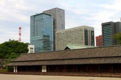 Image courante de palais impérial, Tokyo, Japon photos stock