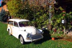 Image courante de voiture ancienne sur l'affichage photographie stock
