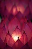 Image courante des bougies avec un fond mou Image stock