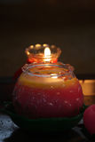 Image courante du Burning de bâton d'encens Photographie stock libre de droits