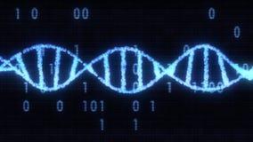 Image courante gentille fra?che de mol?cule d'ADN d'illustration sant? naturelle en spirale de fond de nouvelle belle photo stock